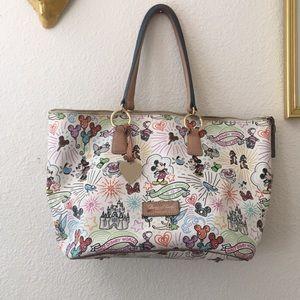 Disney Dooney and Bourke zipper Sketch bag